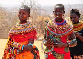 Traditional living Conditions of the Maasai People in Kenya