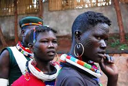 The language of the luo people in africa