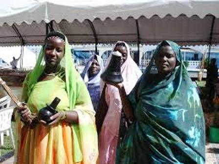 The wedding ceremony of the bahororo