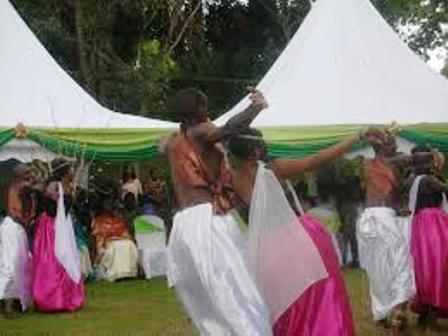 THE BATUTSI DANCERS