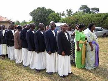The Baganda people traditional marriage (Kwanjula)