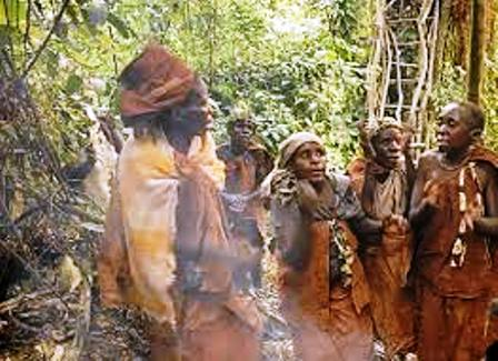 batwa or forest people of africa