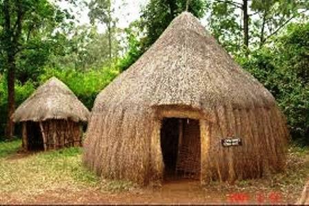 outside the Bomas of Kenya