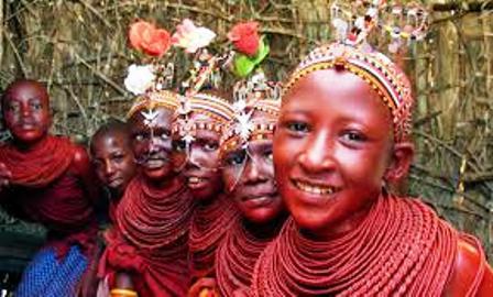 The Bride of the Elmolo People of Kenya