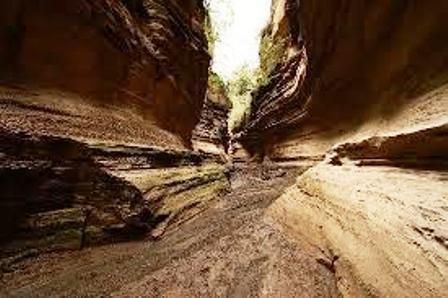 Hell's Gate national park gorge