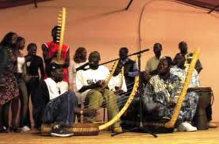 the traditonal dancers from kakwa tribe