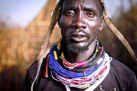 The Karamajong Warrior Neighbor to Turkana