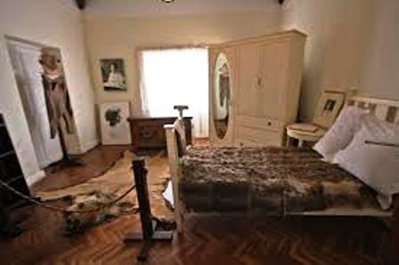 bed room of Karen Blixen Museum