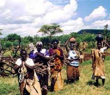 Kipsigis Women on their way to fetch water