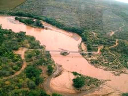 Tana River joins the park with Meru National Park.