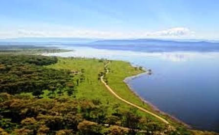 Lake Nakuru National Park Kenya Rift Valley