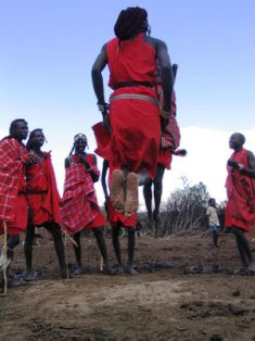 Traditional Sports among the Maasai People