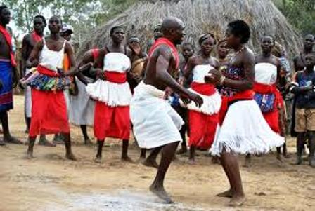 the traditional dance of the digo