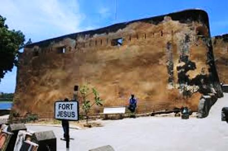 fort jesus for the history of Mombasa