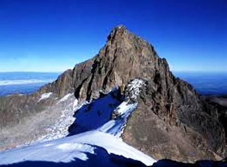 The pick of Mount Kenya