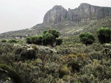 Mt Elgon the craddle land of the gusii people in kenya