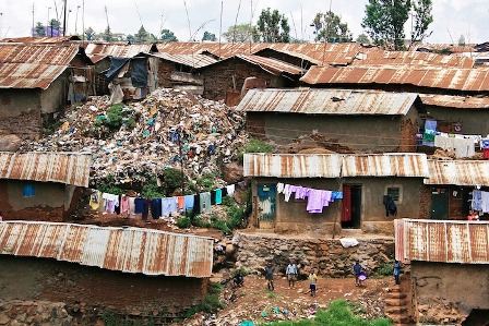 Nairobi Kibera Slum