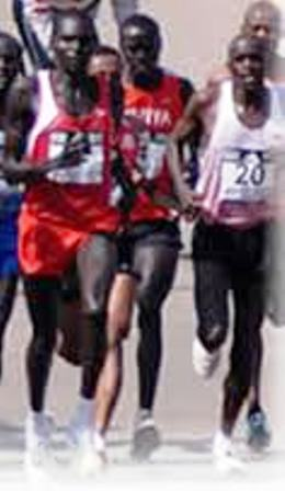 Athletic prowess of the Kalenjin People