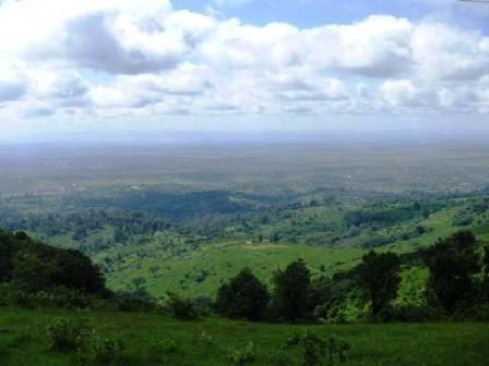 ngong hill from nairobi