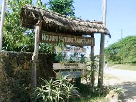 entrance to Nguuni Nature Sanctuary
