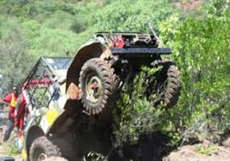 Off road vehicles in Rhino Charge Festival