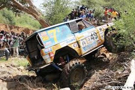 Rhino Charge Festival in kenya