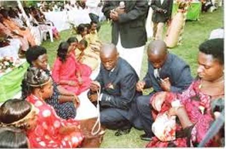 Basoga wives are generally known to be submissive to their husband's wishes