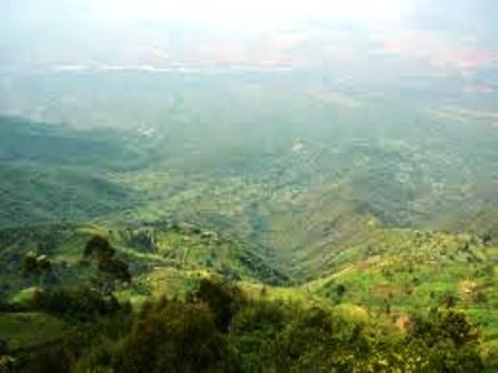 The Land of the Tugen People in  Kenya highland riftvalley