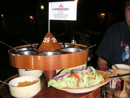 Carnivore Restaurant in Nairo City Kenya