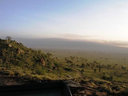 The beautiful Taita hills