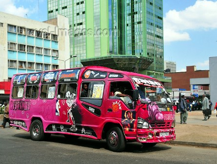 Travelling in Kenya By bus