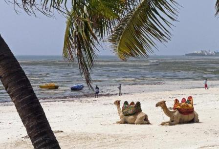 the beaches of mombasa, the land  cof the swahili people in kenya