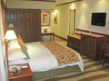 Hotel Paradise on the Nile in Jinja Town Uganda