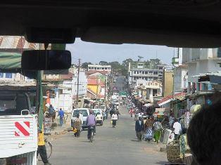 Iringa town in Tanzania