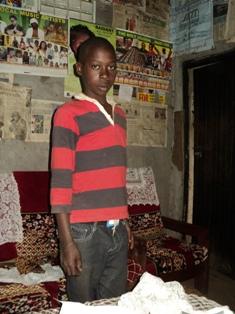 Son Austine in Kakamega Kenya