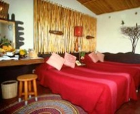 Twin beds of  Amboseli Serena Lodge in amboseli national park