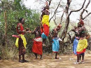 Samburu cultural experience.