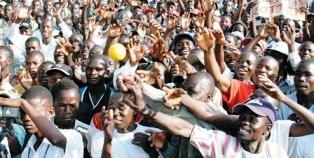 Massive population growth
