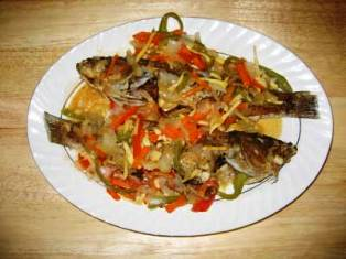 How to Prepare Kenya Ngege Recipe ( Fresh Tilapia Fish)