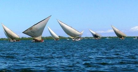 Coastline Region of Mombasa Kenya