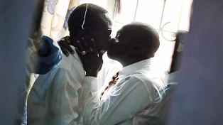 Kenya Taboos , Man kiss man