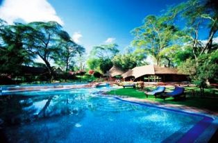 swimming pool at one of naivasha hotels
