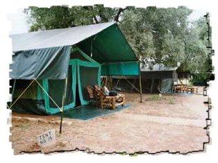Mashariki Tented Camp in Tsavo National Park