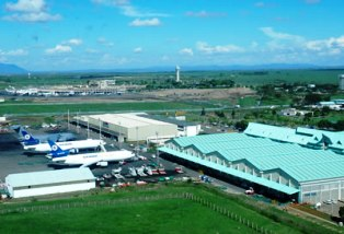 Jomo Kenyatta International Airport (JKIA) in Nairobi (NBO).
