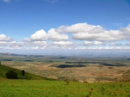 view of the Great Rift Valley from ngong hills