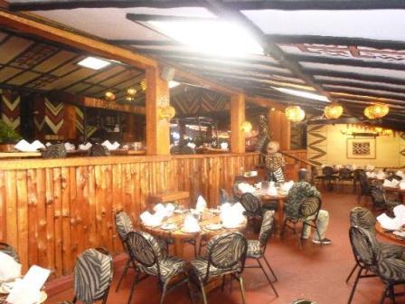 Nairobi Sarit Centre restaurant