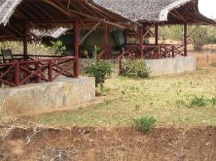 Satao Camp in Tsavo National Park Kenya