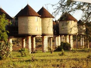 Salt Lick Lodge in Tsavo Voi Kenya