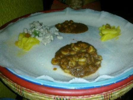 food at kikambala hotels