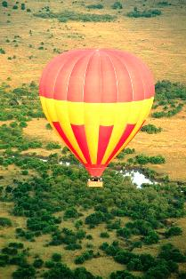baloon safaris in masai mara